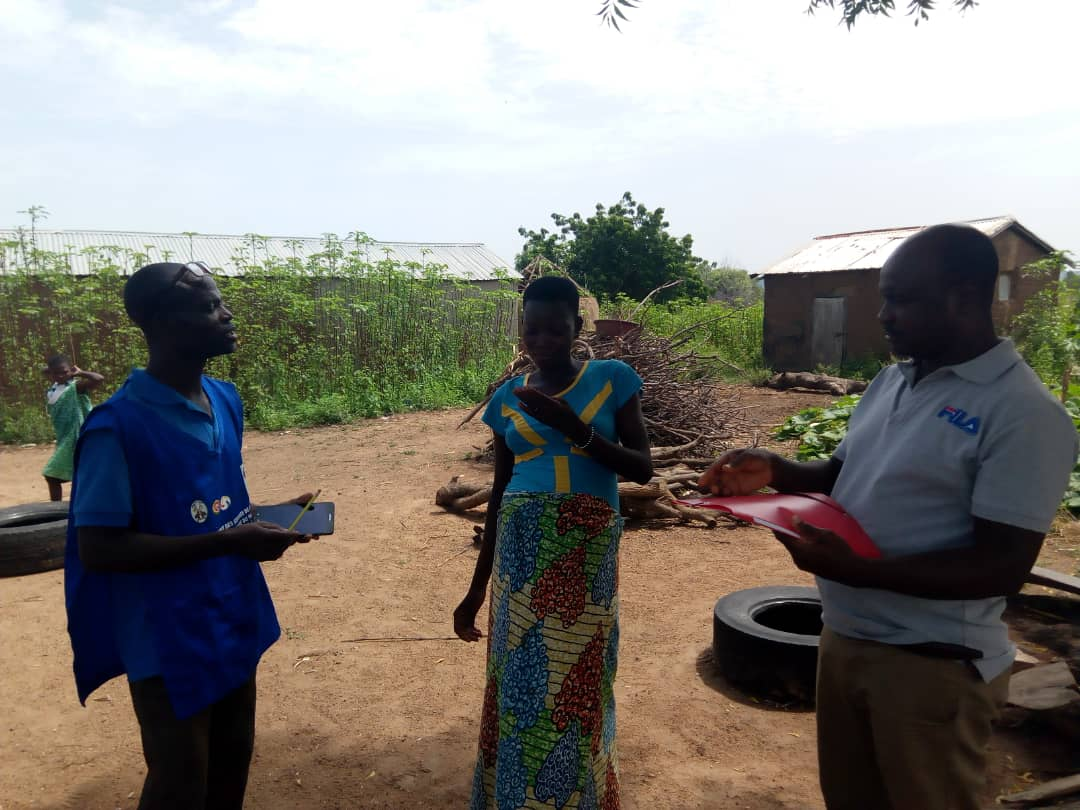 Data collection in the field