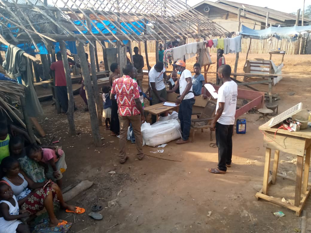 DRC - Nets being distributed